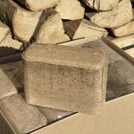 Brandhout: Hout briketten