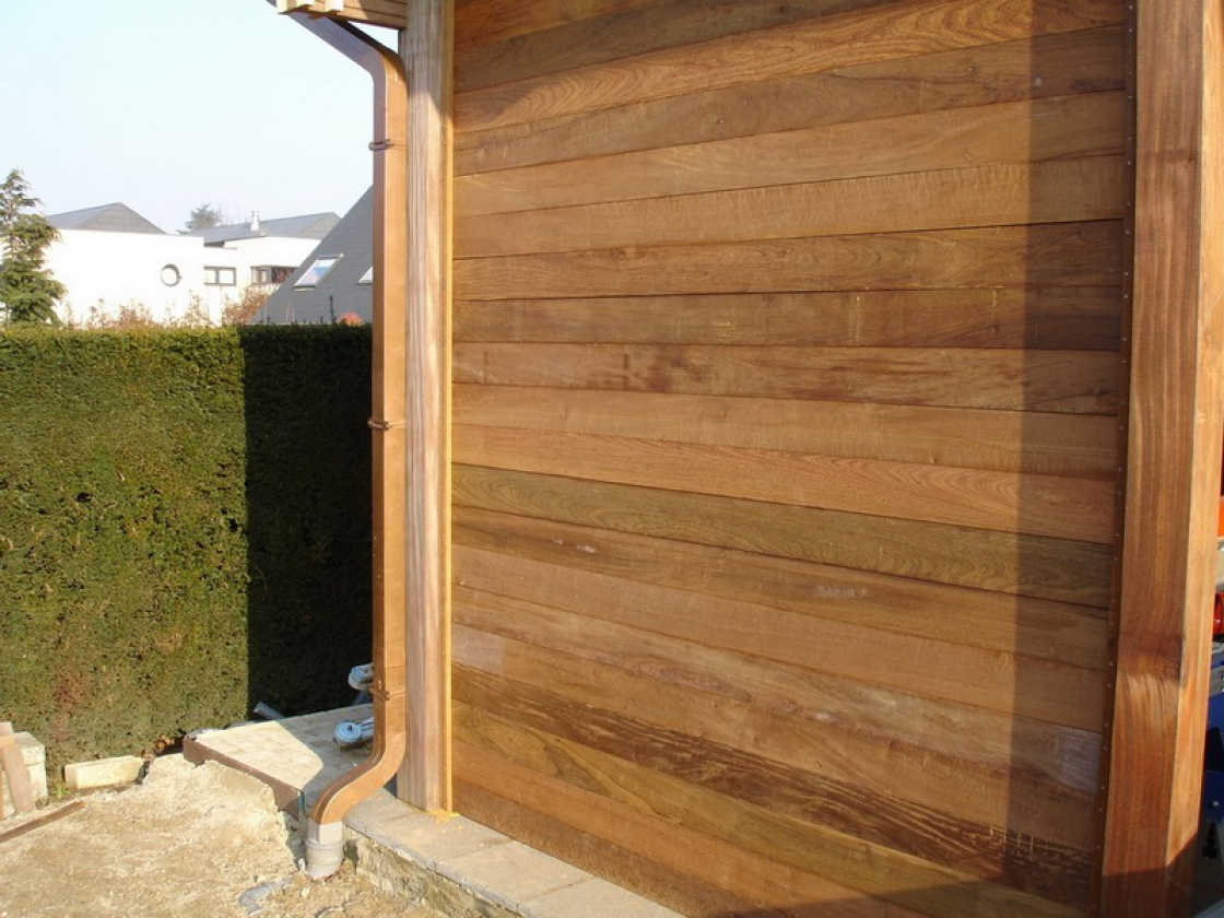 Un carport en bois par Jadimex.
