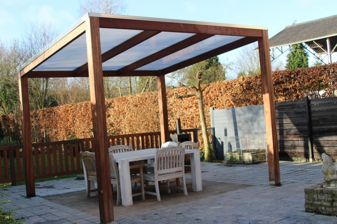 We can also provide a fully tailor-made wooden pergola.