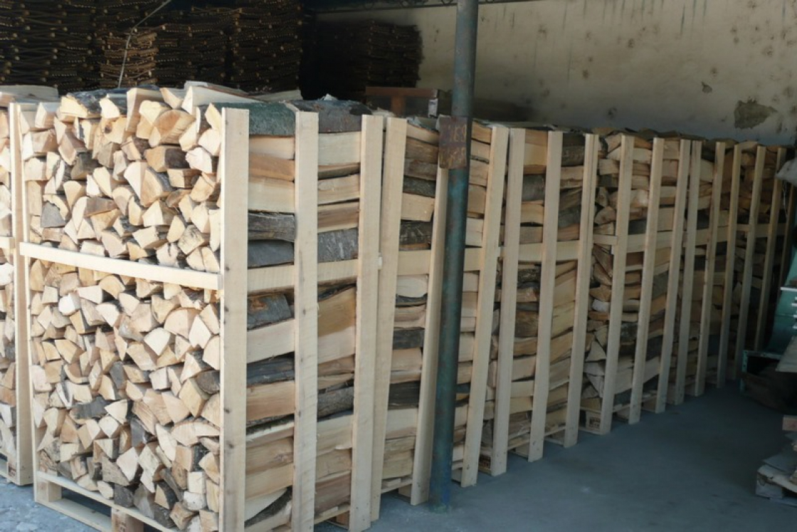 If you only need a limited quantity of firewood, you can choose small bags